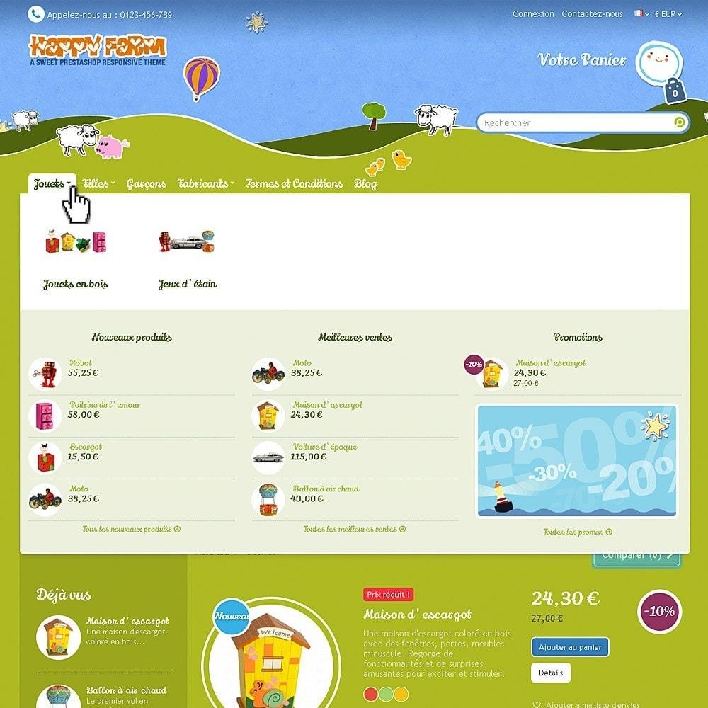theme - Enfants & Jouets - Happy Farm - 3
