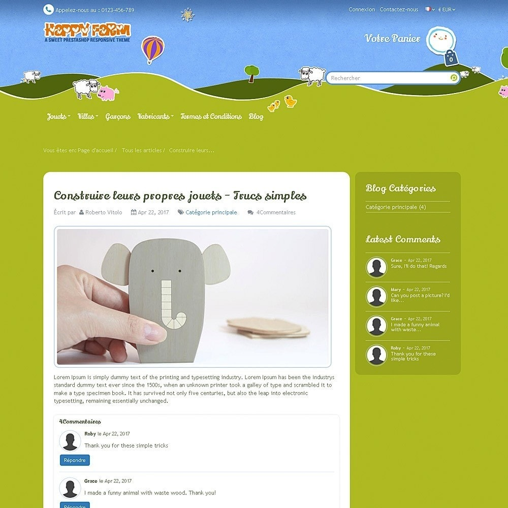 theme - Enfants & Jouets - Happy Farm - 13