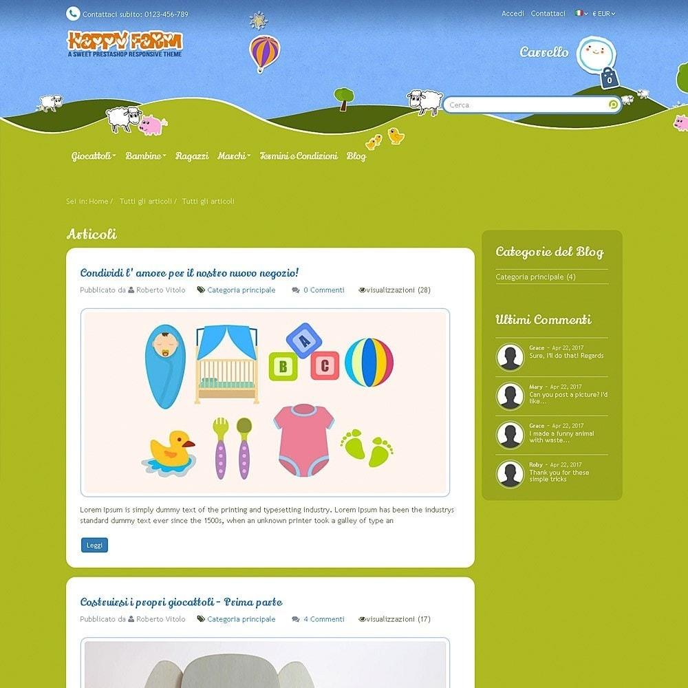 theme - Bambini & Giocattoli - Happy Farm - 12