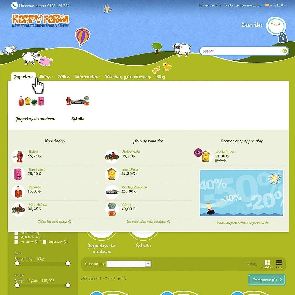 theme - Niños y Juguetes - Happy Farm - 3