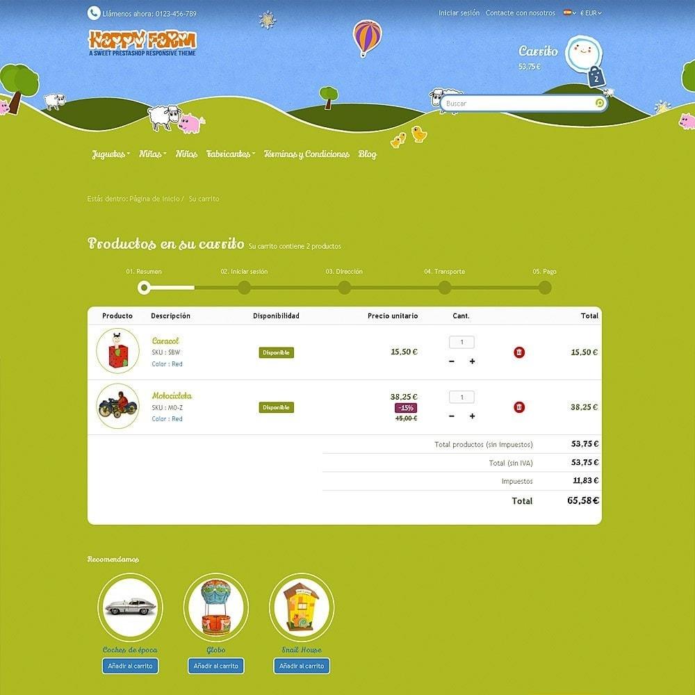 theme - Niños y Juguetes - Happy Farm - 9