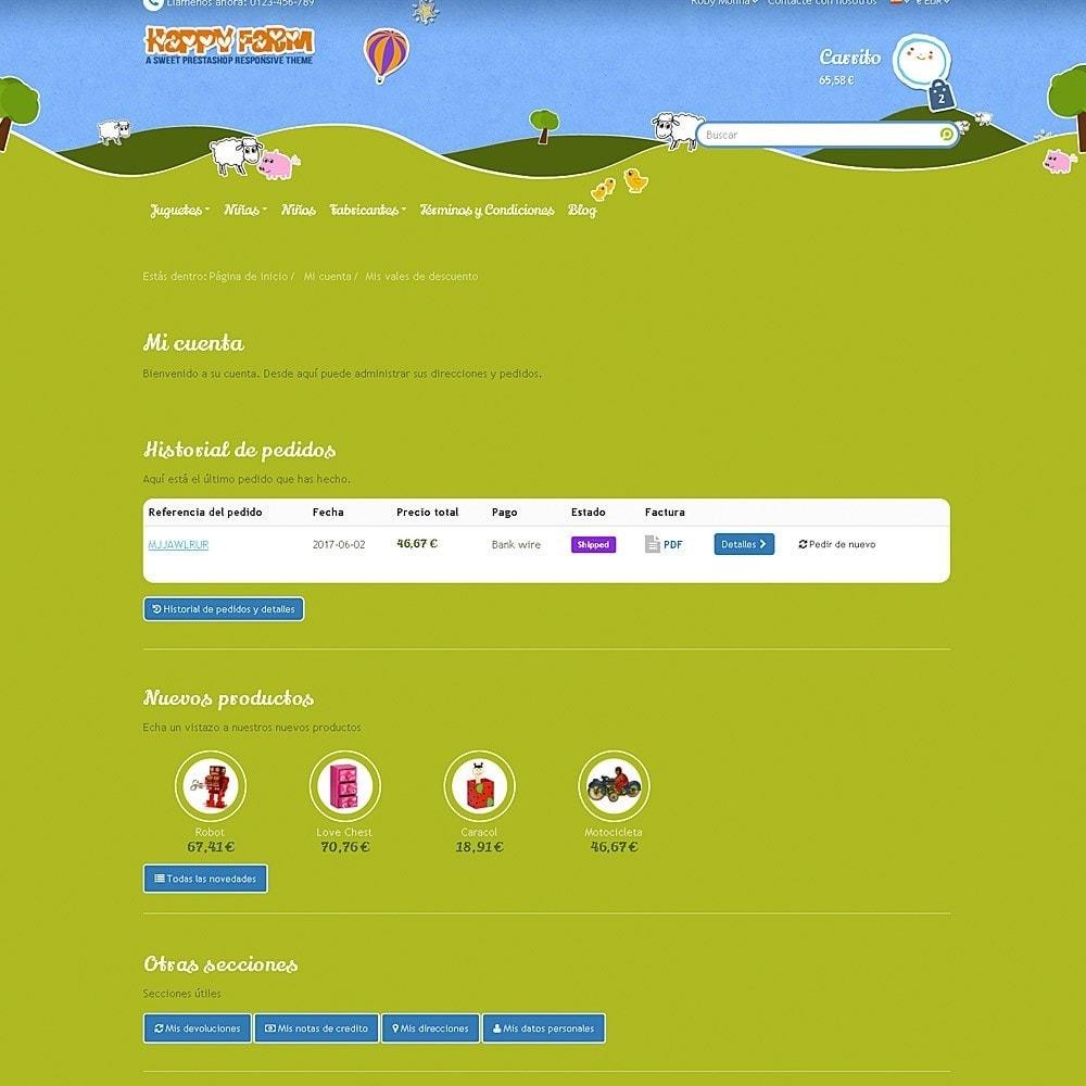 theme - Niños y Juguetes - Happy Farm - 10