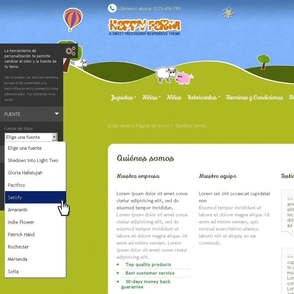 theme - Niños y Juguetes - Happy Farm - 11
