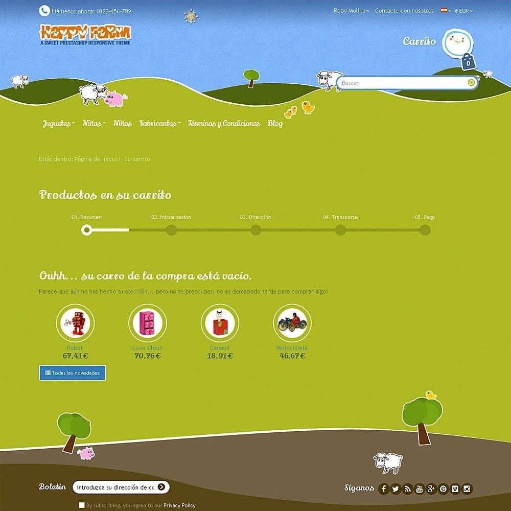 theme - Niños y Juguetes - Happy Farm - 14