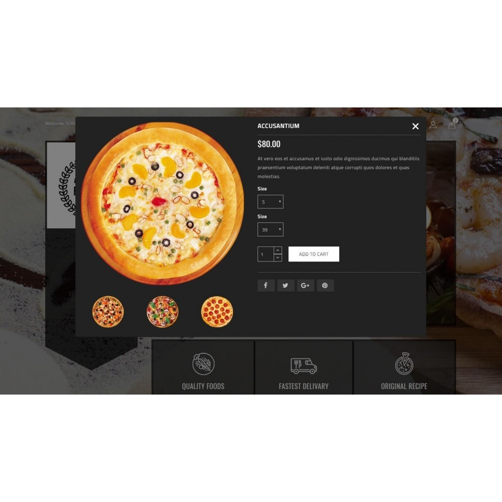 theme - Alimentation & Restauration - Ragout Pizza Store - 7