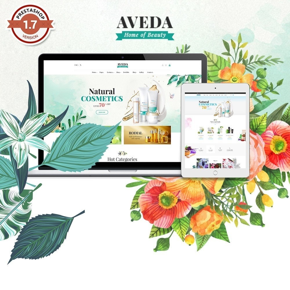 theme - Health & Beauty - Pts Aveda - 1