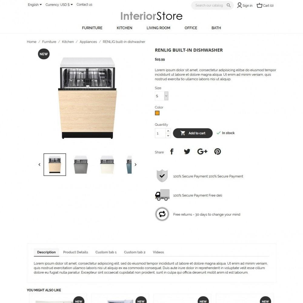 theme - Hogar y Jardín - Interior Store - 6