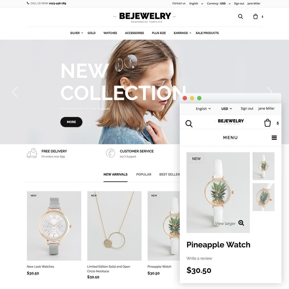 theme - Fashion & Shoes - Bejewelry - 1