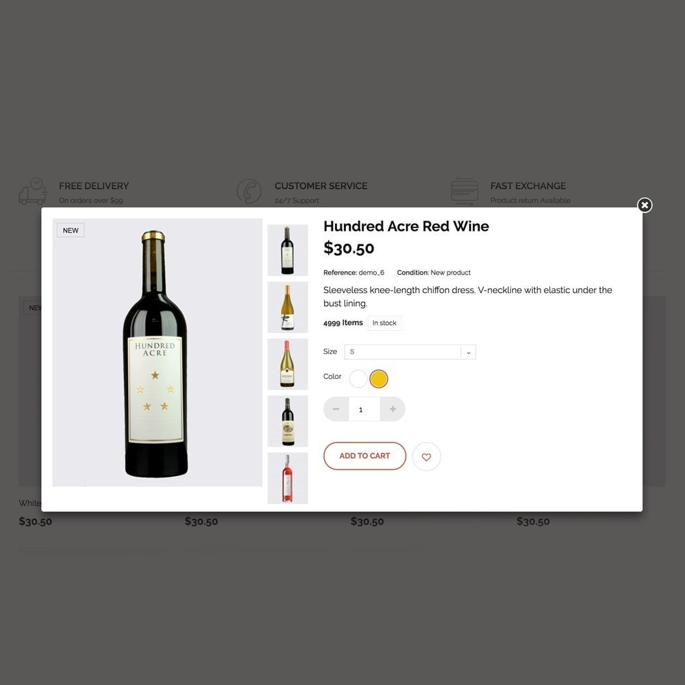 theme - Lebensmittel & Restaurants - Wineshop - 6