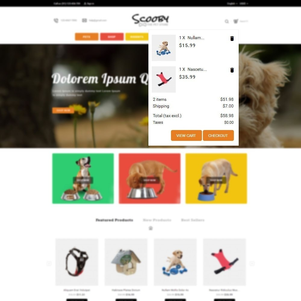 theme - Dieren - Scooby pet store - 6