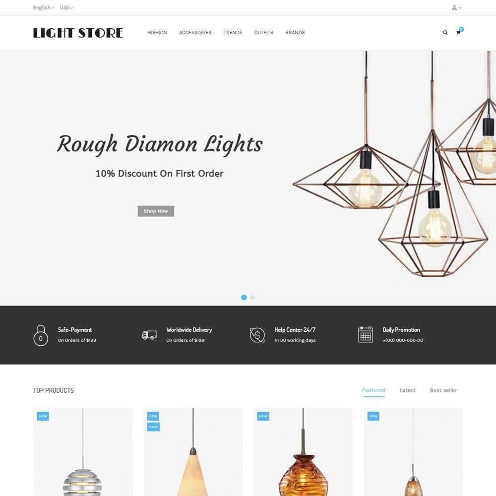 theme - Home & Garden - Light Store - 2