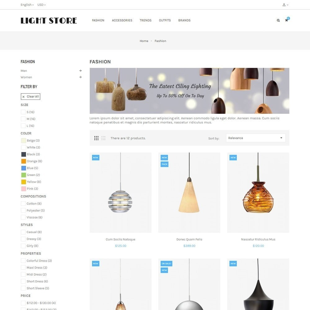 theme - Heim & Garten - Light Store - 3