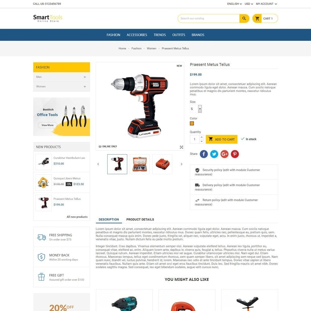 theme - Dom & Ogród - Smart Tools Store - 5