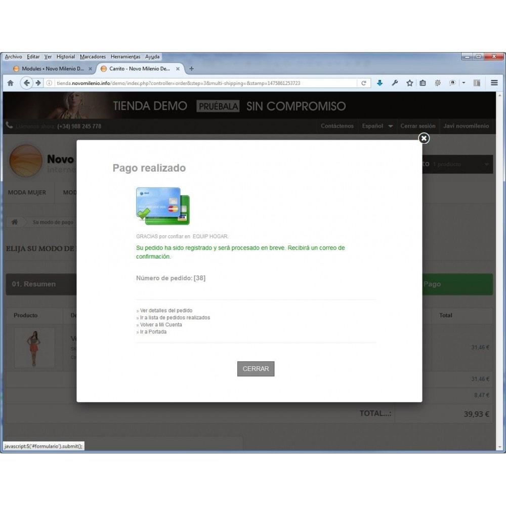module - Pago con Tarjeta o Carteras digitales - CECA TPV PS17+ Pago seguro con tarjeta de crédito SHA2 - 3