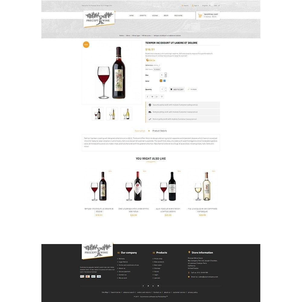 theme - Drink & Tobacco - Precept Wine Store - 5