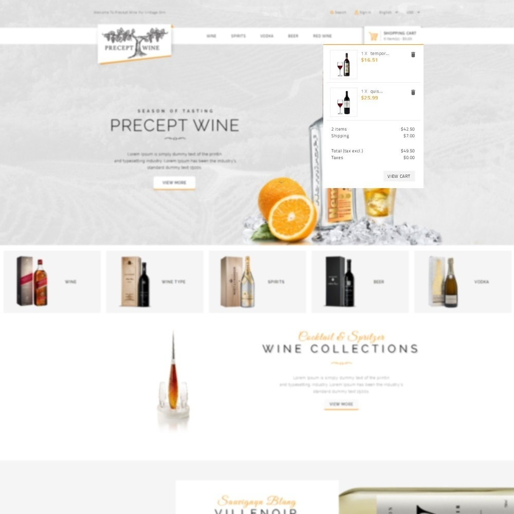 theme - Drink & Tobacco - Precept Wine Store - 7