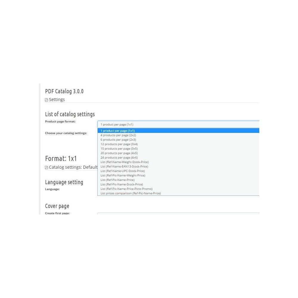 module - Importação & exportação de dados - PDF Catalog - 1