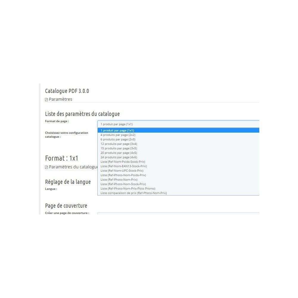 module - Import & Export de données - Catalogue PDF - 1