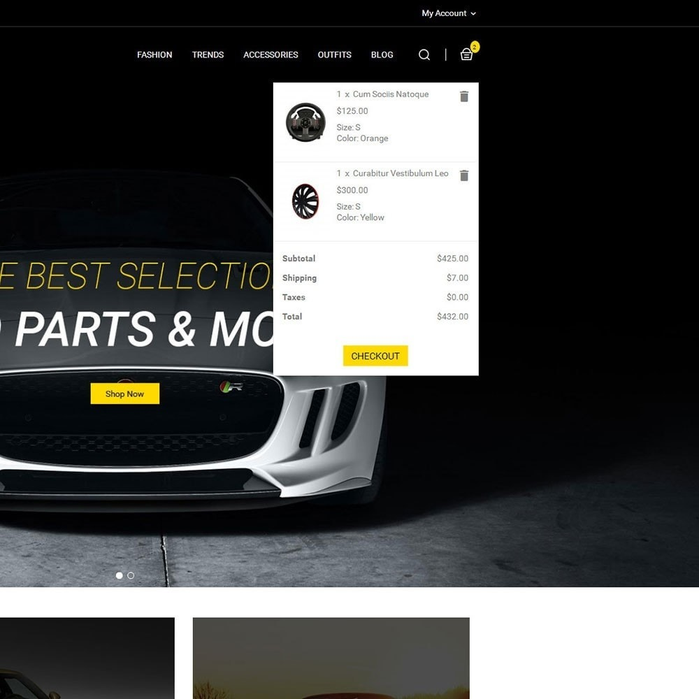 theme - Carros & Motos - Auto Parts Car Store - 6