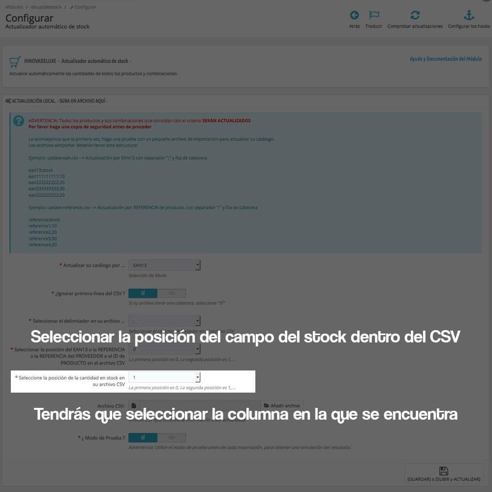 module - Edición Rápida y Masiva - Actualizador masivo de stock (producto y combinaciones) - 9