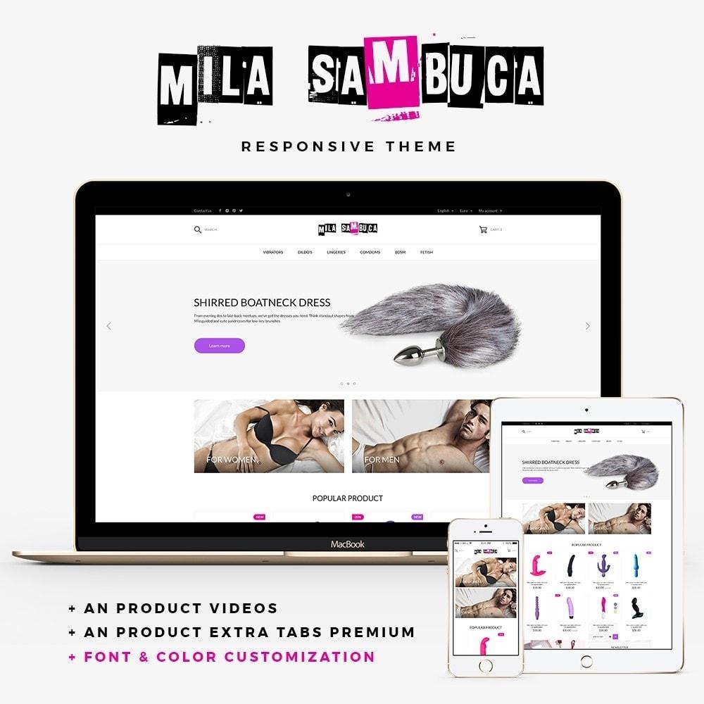 theme - Lingerie & Adulte - Mila Sambuca - 1
