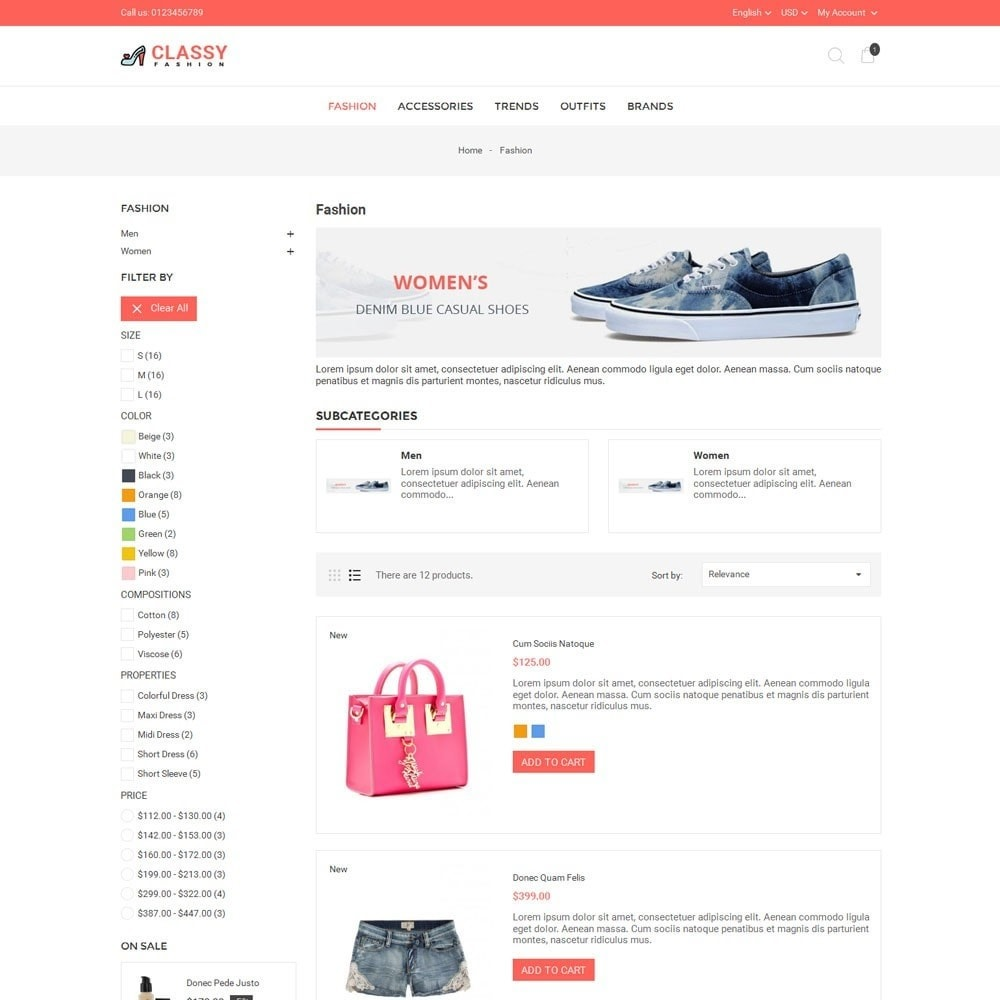 theme - Mode & Chaussures - Classy Fashion Store - 4