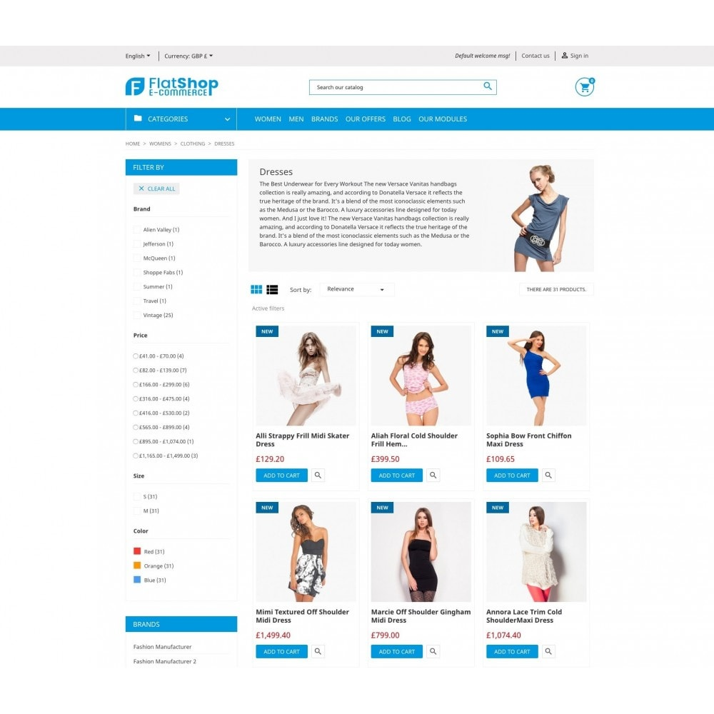 theme - Fashion & Shoes - FlatShop - 6