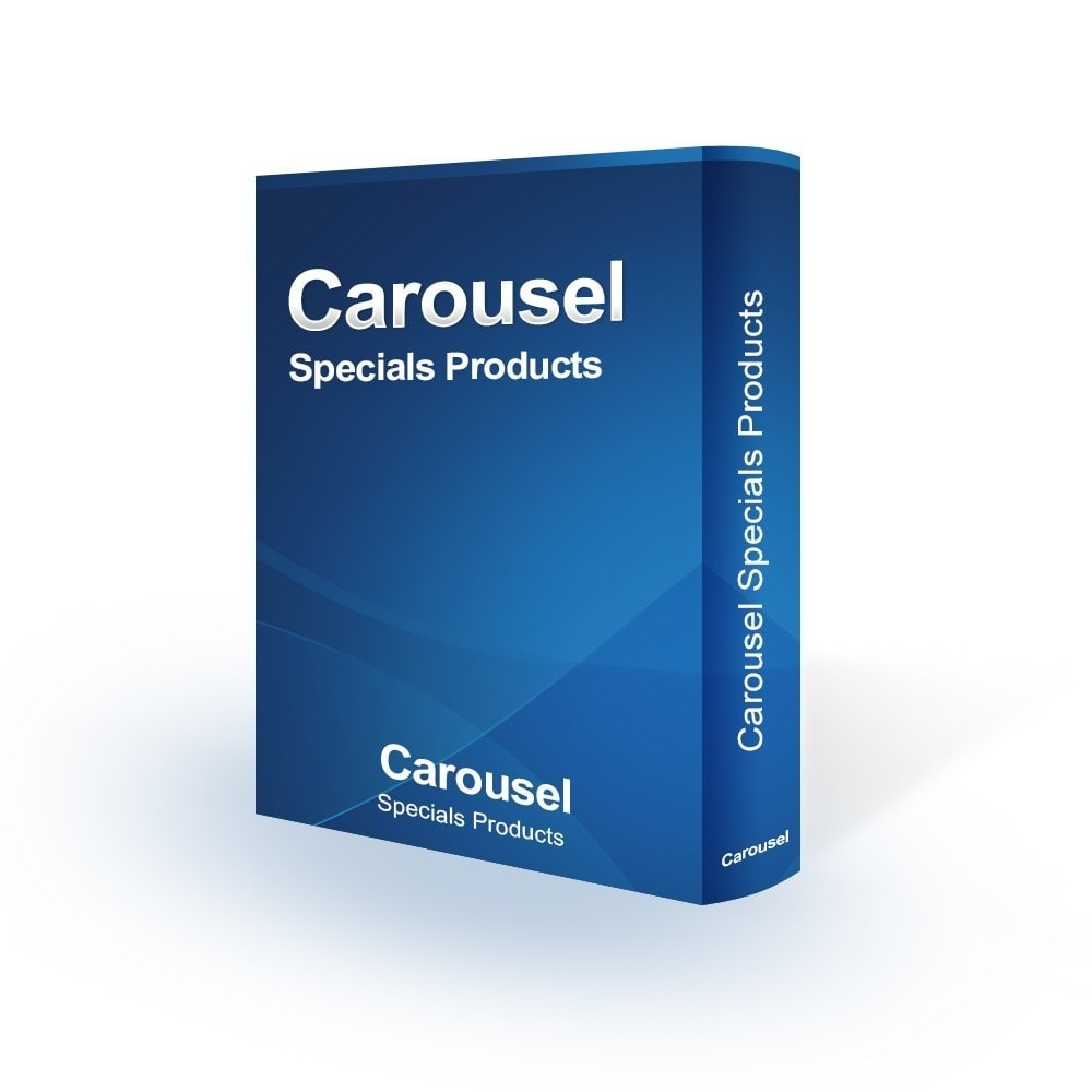 module - Silder & Gallerien - Carousel Specials Products - 1