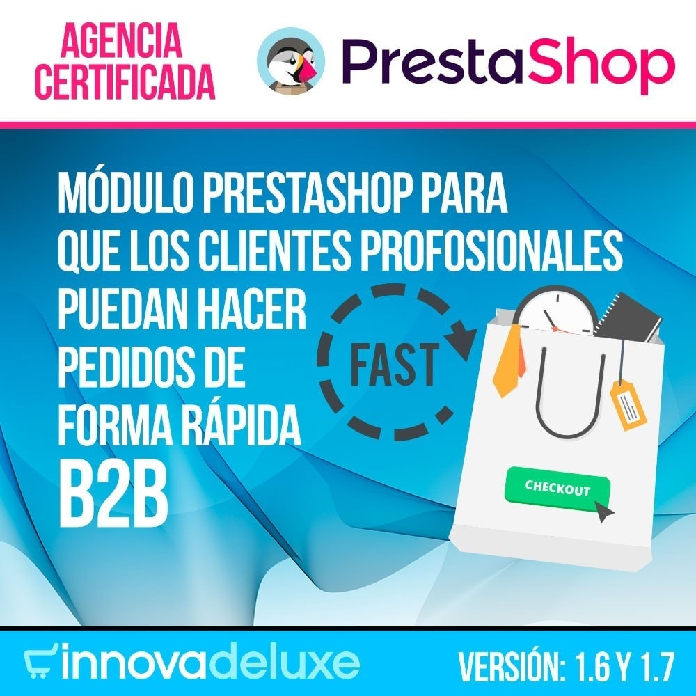module - B2B - Creador de pedidos rápidos para clientes profesionales - 1
