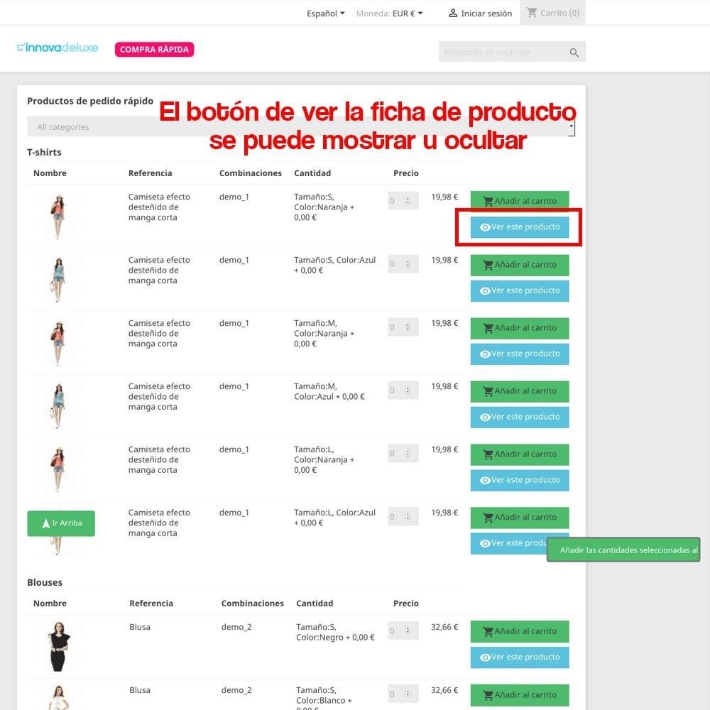 module - B2B - Creador de pedidos rápidos para clientes profesionales - 14