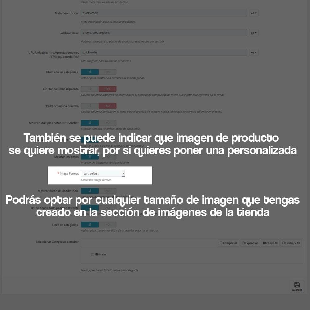 module - B2B - Creador de pedidos rápidos para clientes profesionales - 18