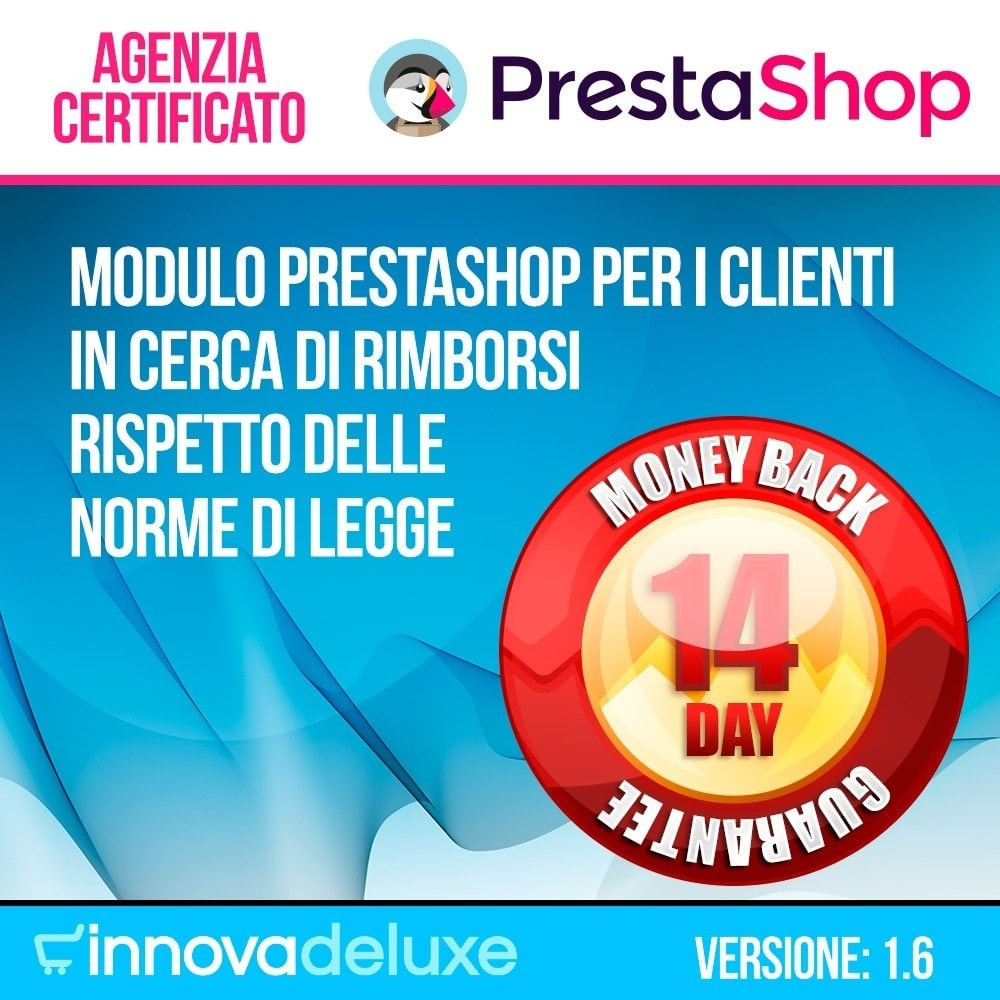module - Legale (Legge Europea) - Rimborso dei prodotti (Legge di tutela del Consumatore) - 1