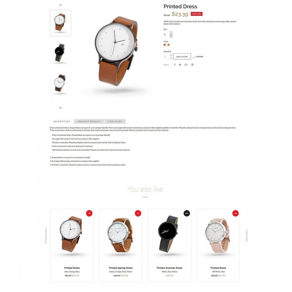 theme - Bellezza & Gioielli - Luxury Watches - 6