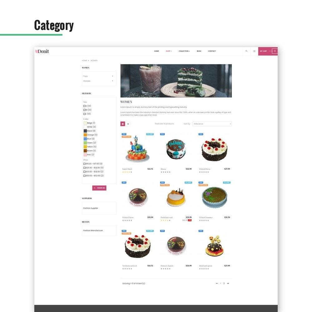 theme - Żywność & Restauracje - Ap Donit - 4