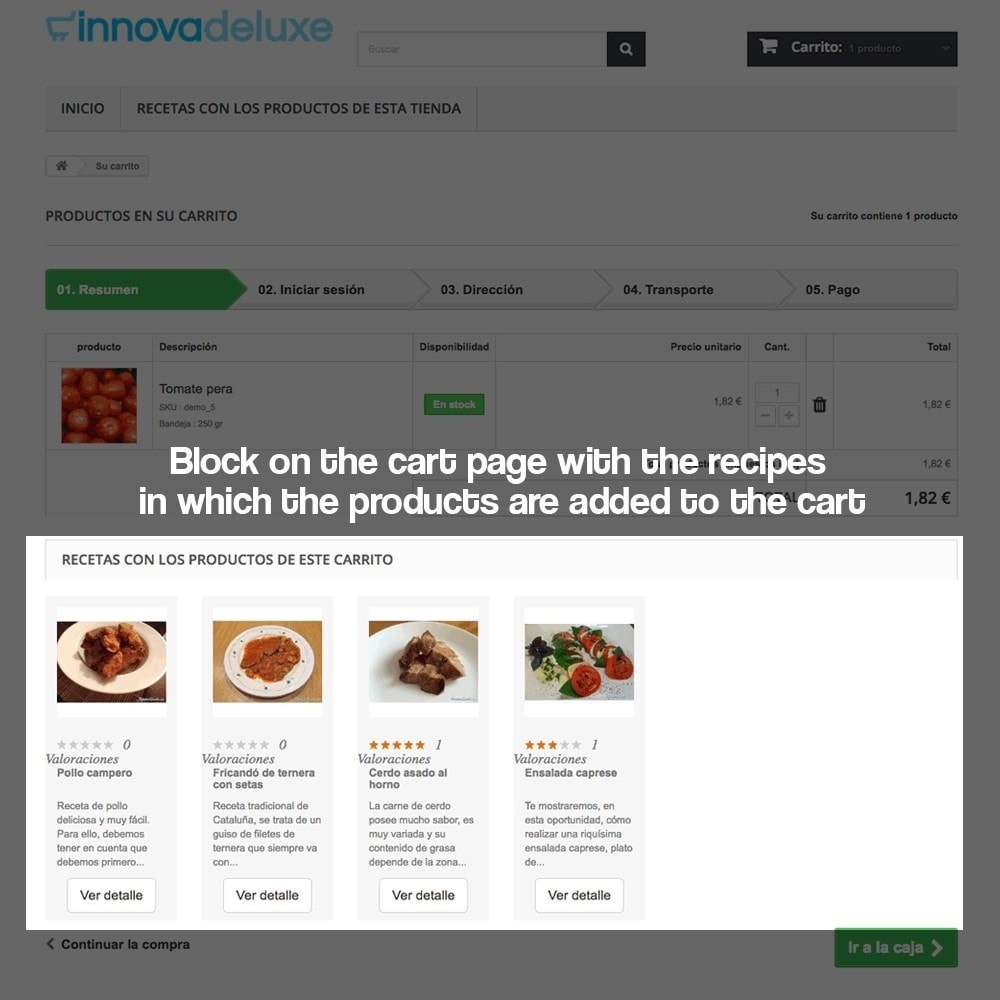 module - Blog, Forum & Nieuws - Recipe manager with the products of the store - 17