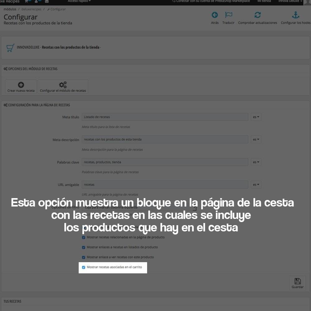 module - Blog, Foro y Noticias - Gestor de recetas con los productos de la tienda - 16
