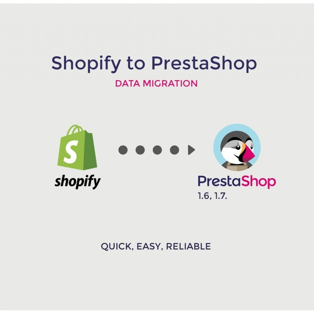 module - Миграции и сохранения данных - Migrate Shopify to PrestaShop Export Import Migration - 1