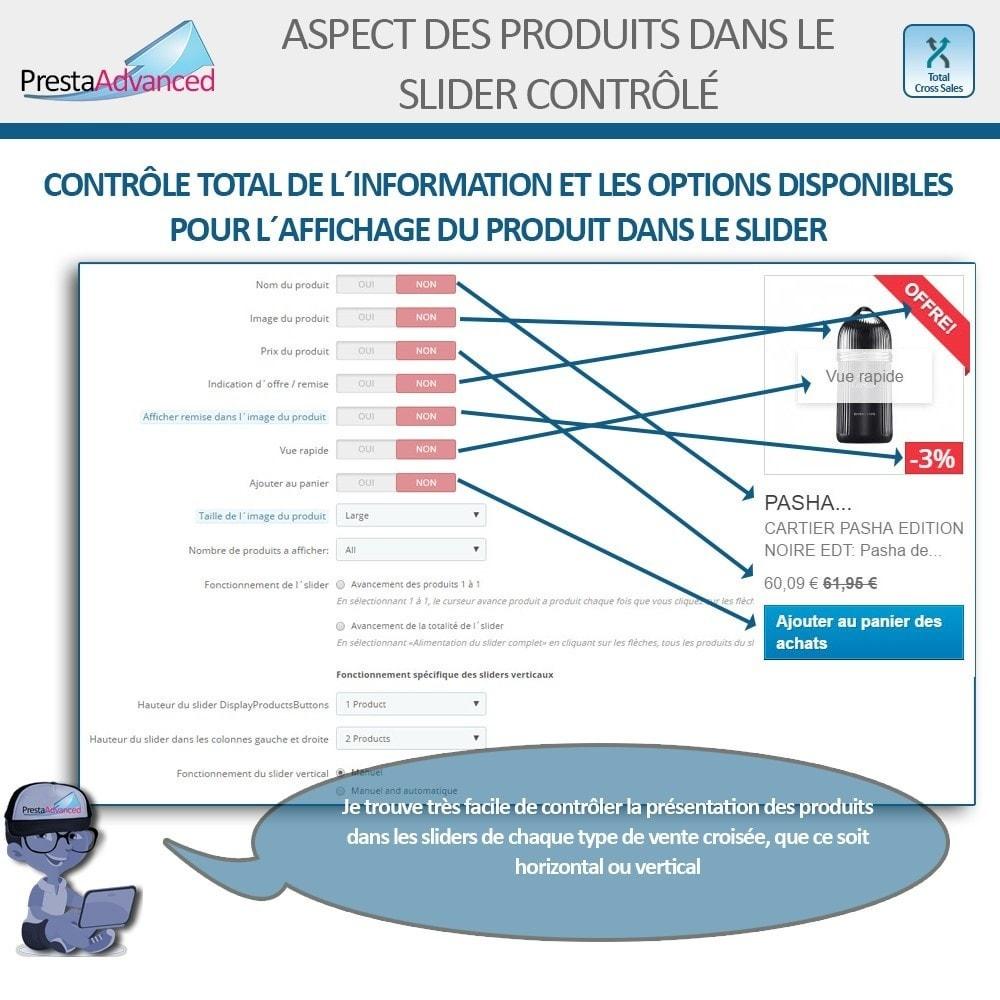 module - Ventes croisées & Packs de produits - Total Cross Sales - Configuration des ventes croisées - 6