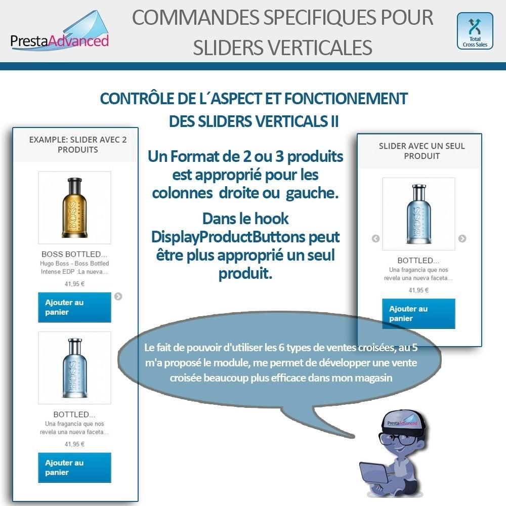 module - Ventes croisées & Packs de produits - Total Cross Sales - Configuration des ventes croisées - 9