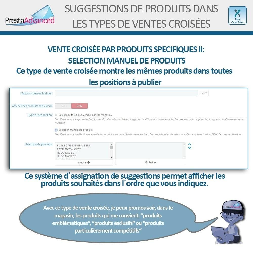 module - Ventes croisées & Packs de produits - Total Cross Sales - Configuration des ventes croisées - 22