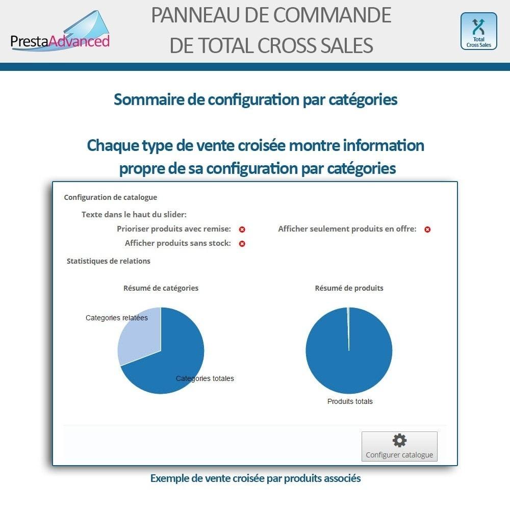 module - Ventes croisées & Packs de produits - Total Cross Sales - Configuration des ventes croisées - 27