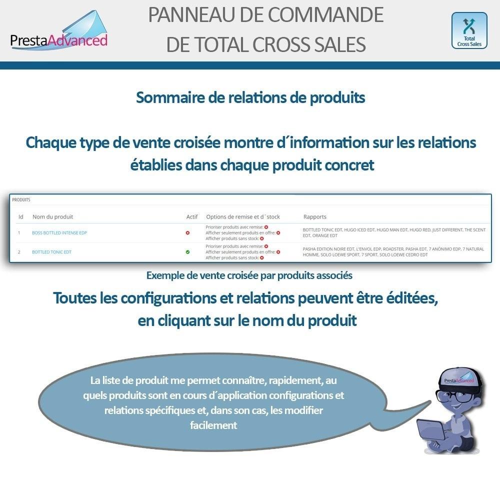 module - Ventes croisées & Packs de produits - Total Cross Sales - Configuration des ventes croisées - 30