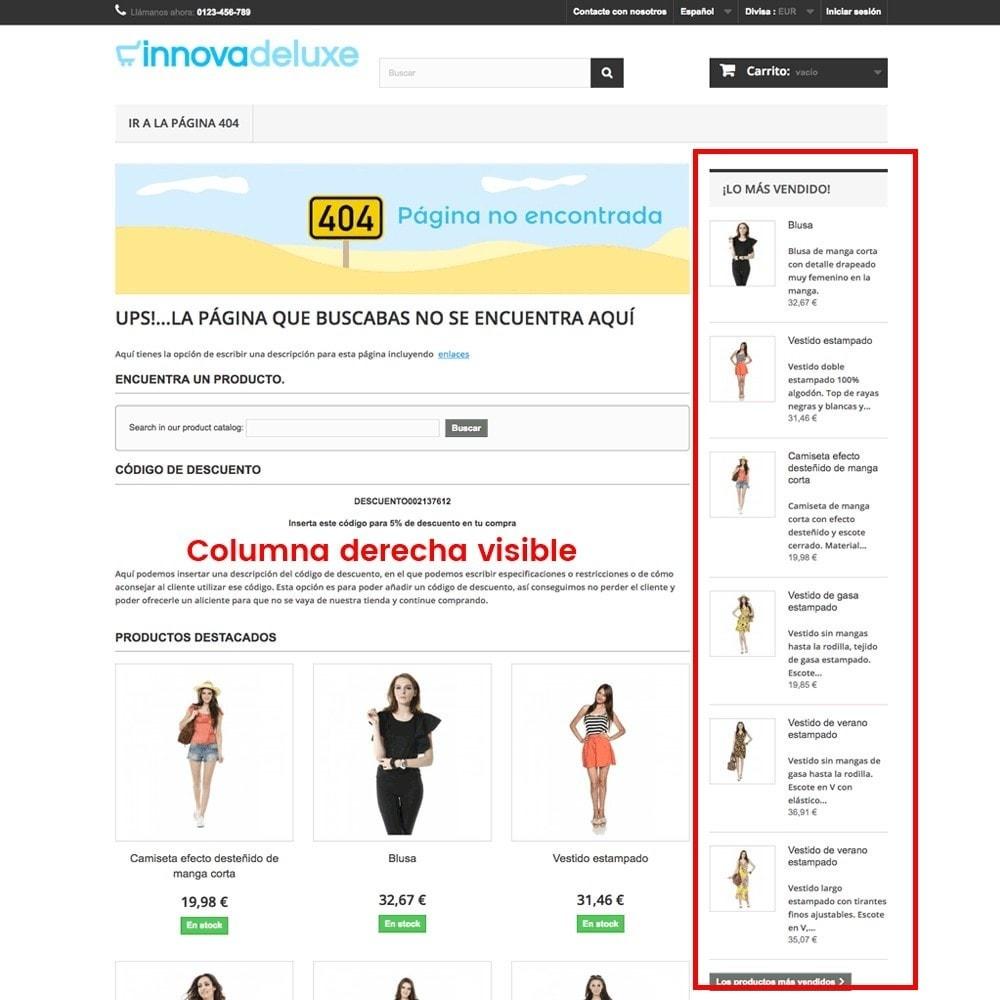 module - URL y Redirecciones - Personalización de la página de error 404 - 13