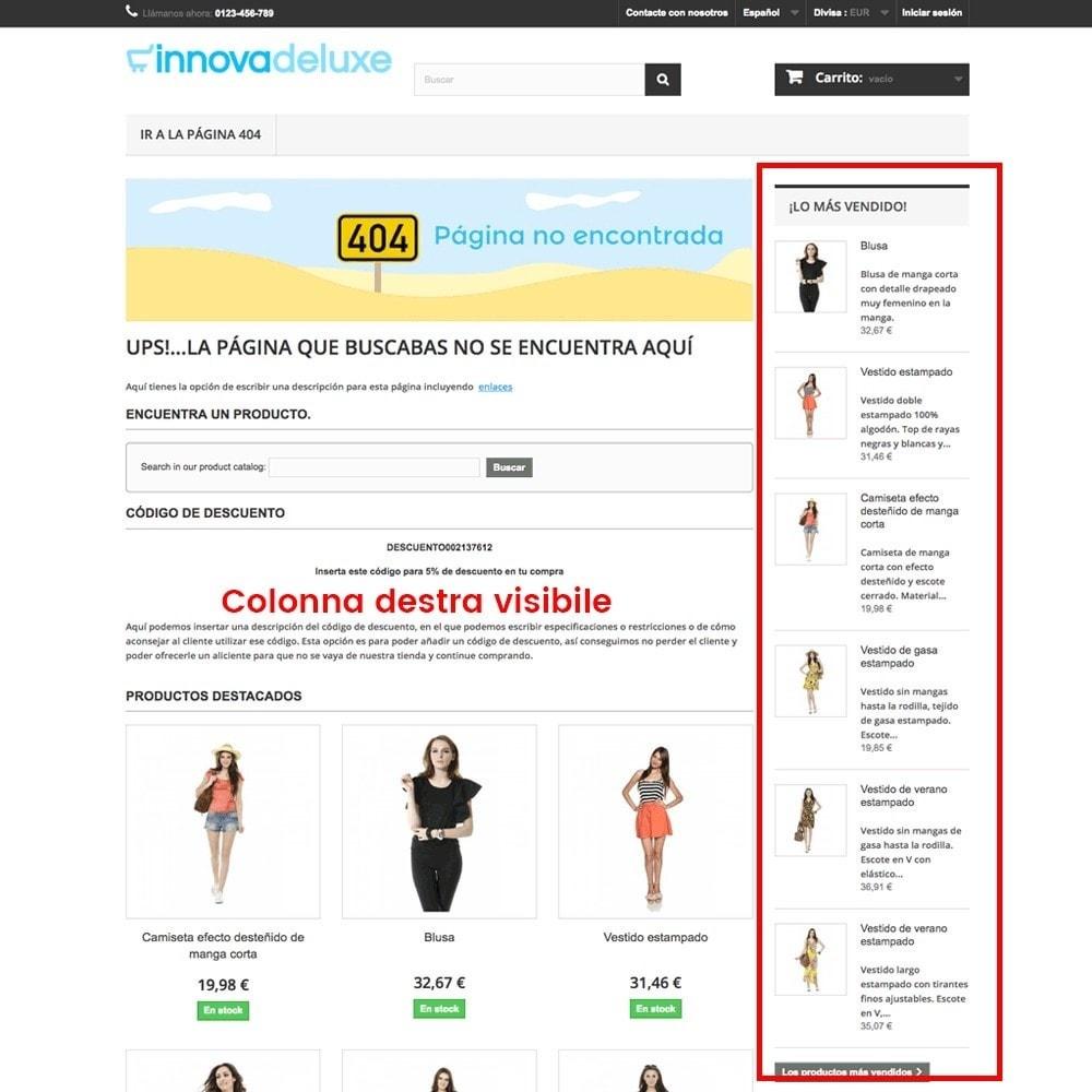 module - URL & Redirect - Personalizzare la pagina di errore 404 - 13