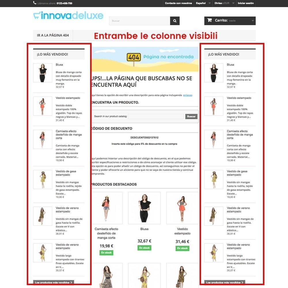 module - URL & Redirect - Personalizzare la pagina di errore 404 - 14