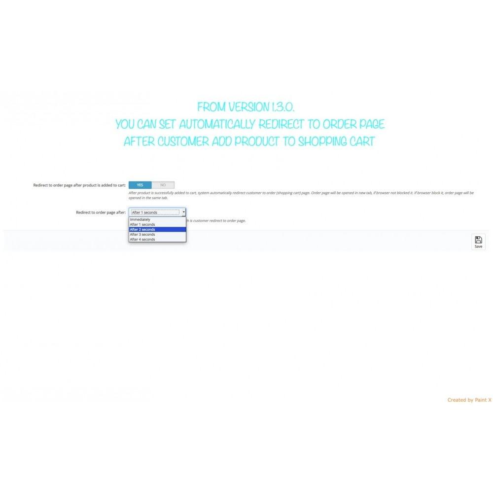 module - Iscrizione e Processo di ordinazione - Effetto volo del prodotto nel carrello, popup ed altro - 11