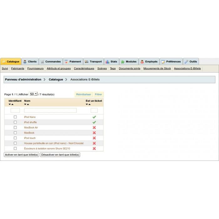 module - Web de Reservas y Alquiler - eTicket - 3