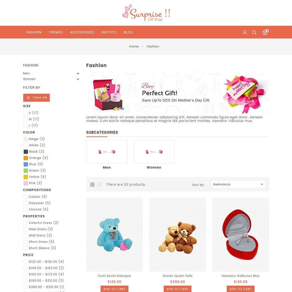theme - Gifts, Flowers & Celebrations - Gift Store - 3