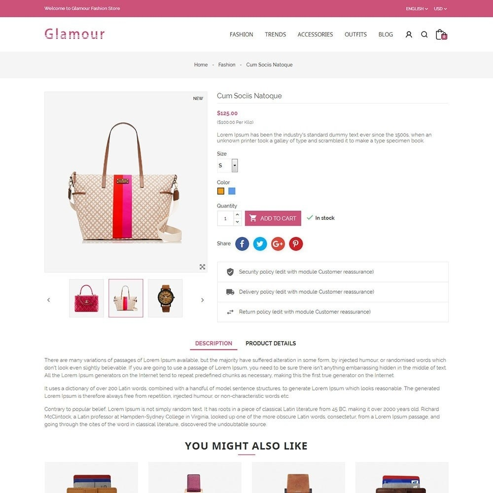 theme - Mode & Schoenen - Glamour Fashion Store - 5
