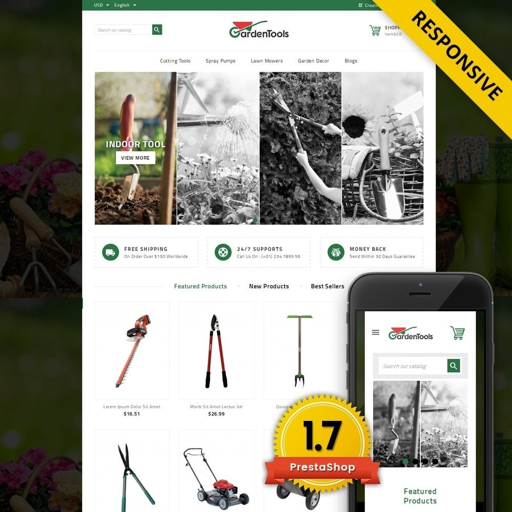 theme - Huis & Buitenleven - GardenTools - Tools Store - 1